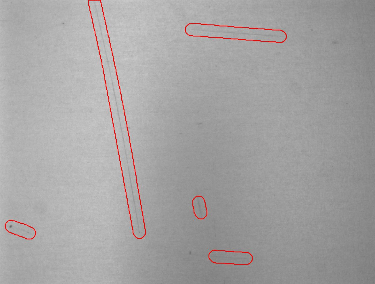 Anomaly detection (e.g. surface scratches)
