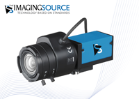New Series of Compact GigE Cameras with Auto Iris Control