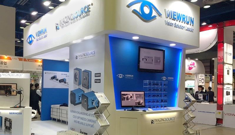 The Imaging Source and VIEWRUN at the 2019 Korea Vision Show.