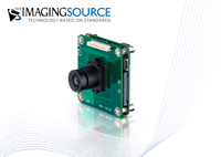 New 5 MegaPixel GigE Board Cameras with Power over Ethernet (PoE)