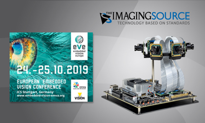 TIS to Make its Debut at Embedded VISION Europe (EVE) 2019