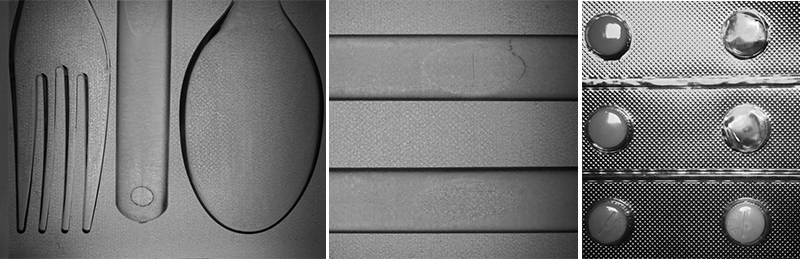 Standard intensity images of transparent objects often yield little useful visual data.