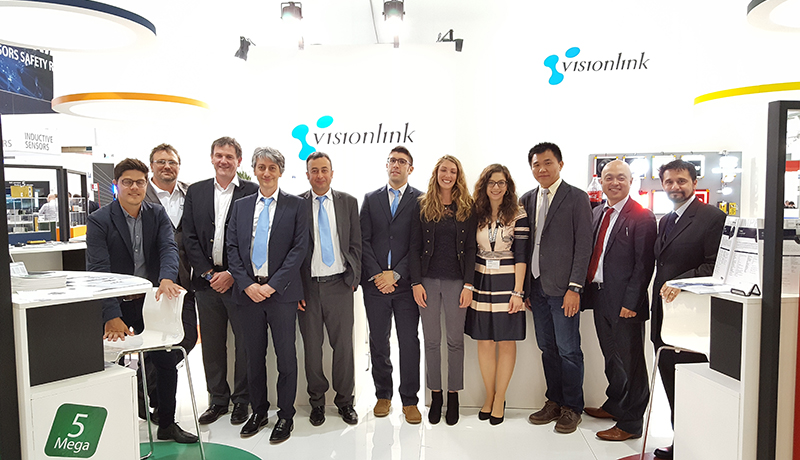 The Visionlink Team at SPS IPC Drives 2016