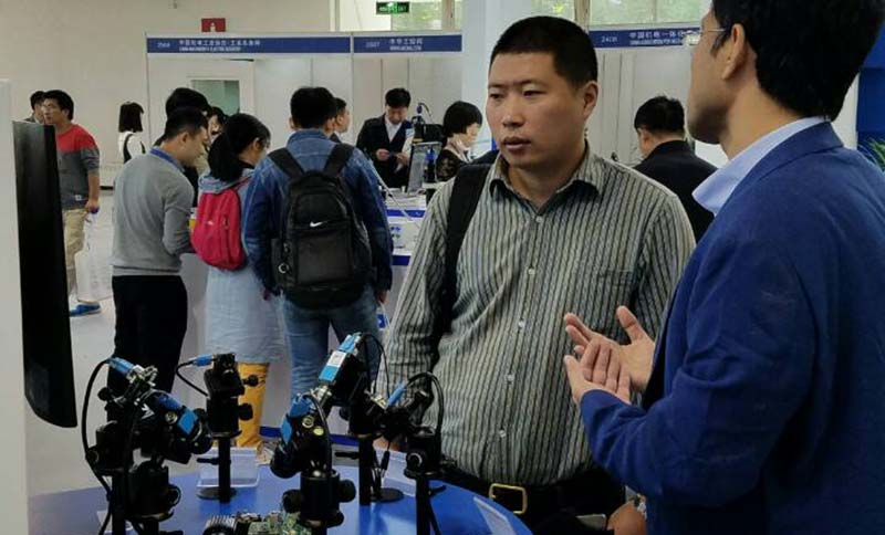 Discovering the latest in machine vision technology: Vision China Show Beijing 2016