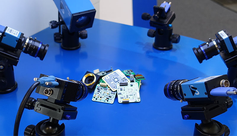 <strong>USB 3.1, USB 3.0, GigE, Zoom and Board Cameras</strong> at Vision China Shanghai 2018.