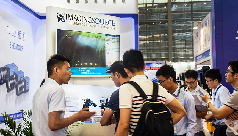 The Imaging Source and <strong>Sunvision</strong> at <strong>IAMD Shenzehn 2018</strong>.