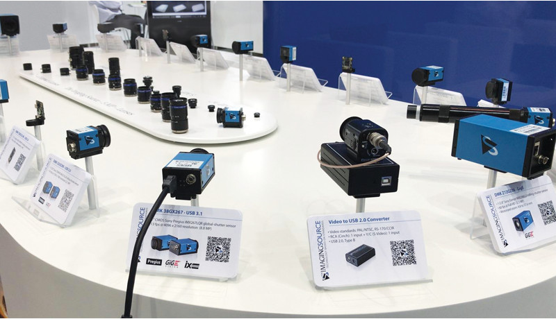 The right camera for the task at hand: the newest cameras and lenses at <strong>VISION 2018.</strong>