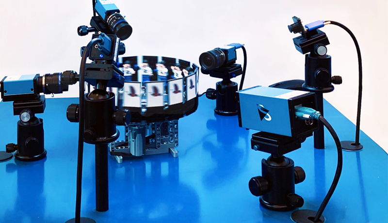 Via zoetrope, additional camera models highlight differences in frame rates and other sensor characteristics.