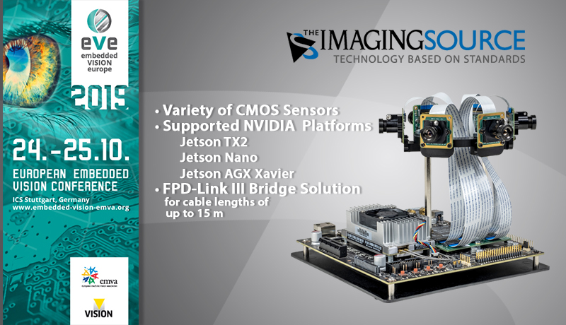 Join us at Embedded VISION Europe (EVE) 2019.