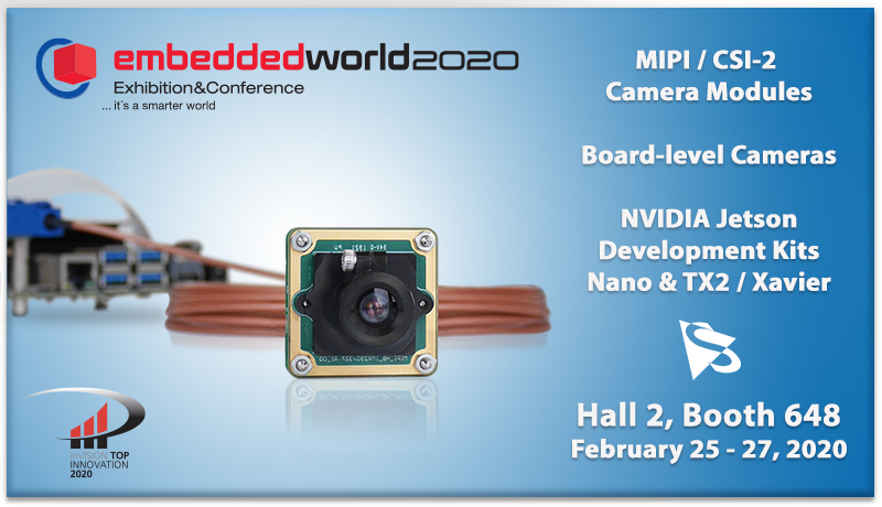 <strong>embedded world 2020:</strong> Join us at the leading international fair for embedded systems.