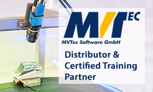 MVTec Distributor & Certified Training Partner   (*授权区域: 欧洲国家)
