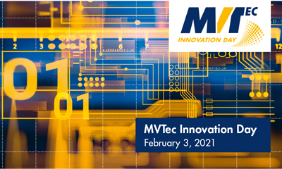 MVTec Innovation Day 2021: Online!
