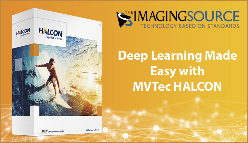 <b>HALCON 20.05</b>: MVTec HALCON directly integrates third-party libraries into the HALCON installer, which saves time and allows you to get started with your deep learning application right away.